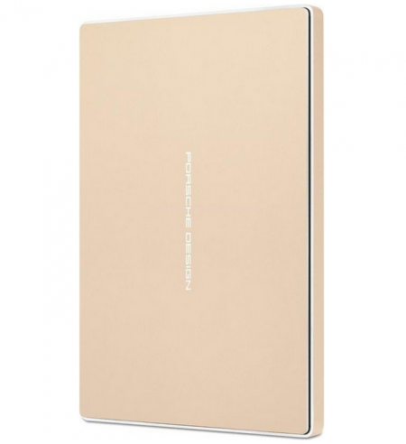 Lacie Porsche Design 2TB externí disk (2.5 P'9223 USB 3.0 Typ C) - Zlatá