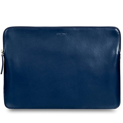 Knomo BARBICAN Leather Sleeve 13inch - Phoenix Blue
