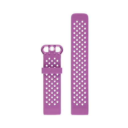 Fitbit Charge 3 Accessory Sport Band Berry Small