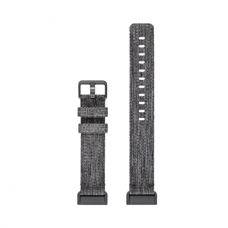 Fitbit Charge 3 Accessory Band Woven Charcoal Small