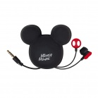 Tribe Earphones with pouch Mickey - Black