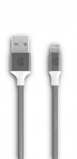 Griffin USB to Lightning Cable Premium 5ft - Silver