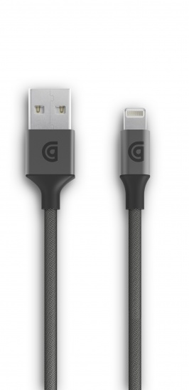 Griffin USB to Lightning Cable Premium 10ft - Gray