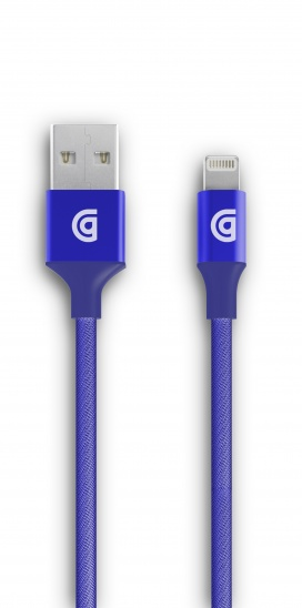 Griffin USB to Lightning Cable Premium 10ft - Blue