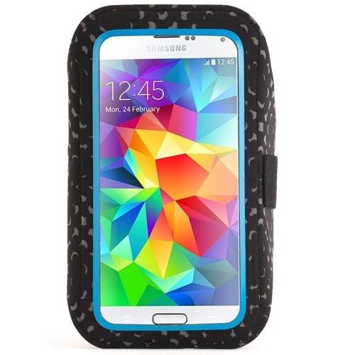 Griffin Armband Adidas Licensed Galaxy S5, S6 - Black/Solar Blue