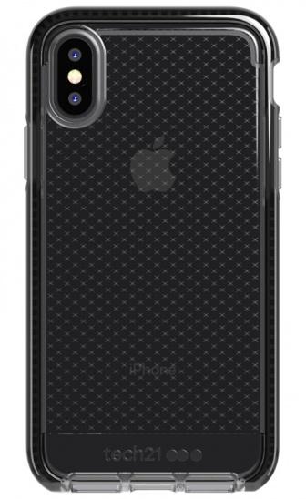 Tech21 Evo Check Kenley for iPhone X/XS - Smokey/Black