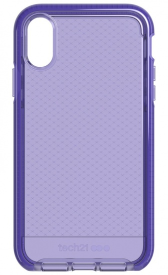 Tech21 Evo Check for iPhone XR - Ultra Violet