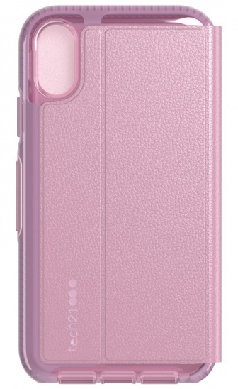 Tech21 Evo Wallet for iPhone XR - Orchid