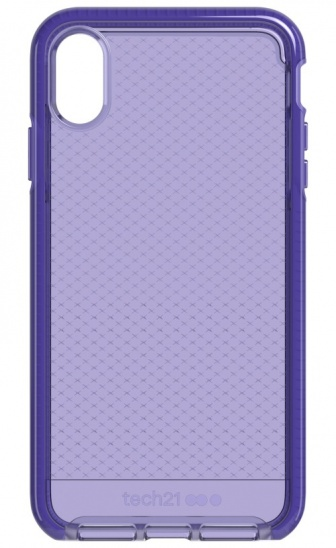 Tech21 Evo Check for iPhone XS Max - Ultra Violet