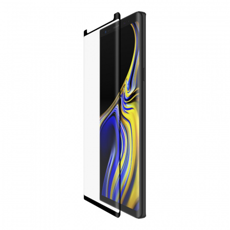 Belkin Tempered Curve for Samsung Note 9 with installation frame