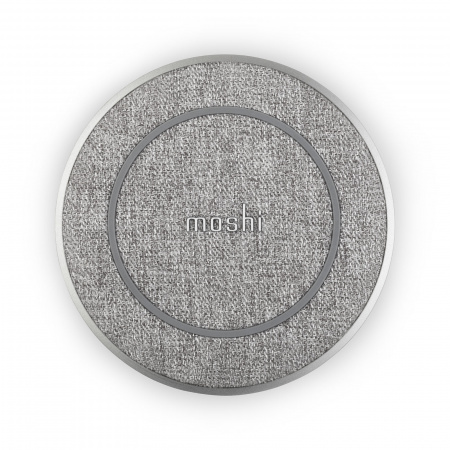 Moshi Otto Q Wireless Charging pad - Alpine Gray