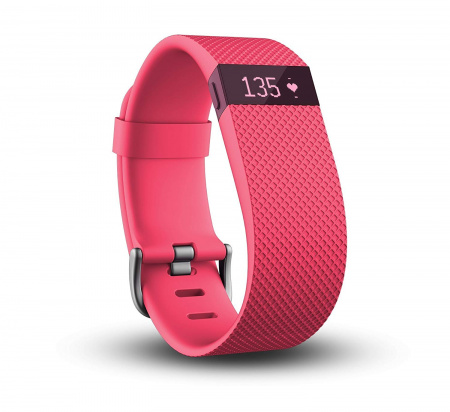 Fitbit Charge HR, Large - Pink