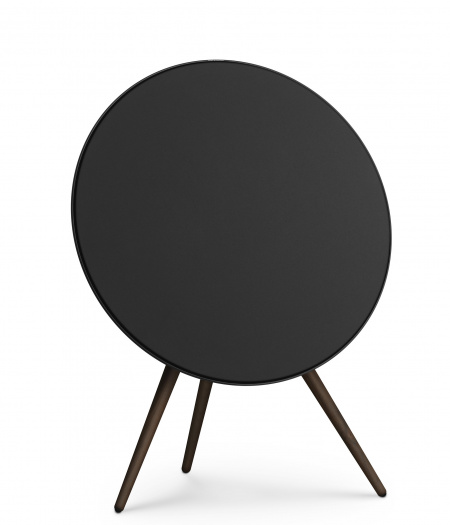 Bang&Olufsen Speaker A9 GVA (4th Gen) Black with Walnut Legs and Black Fabric