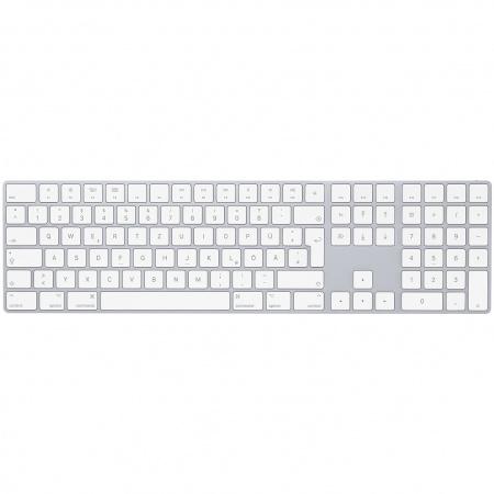 Apple Magic Keyboard with Numeric Keypad - German - Silver