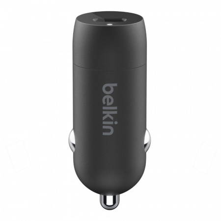 Belkin 18W Standalone Car Charger - Black