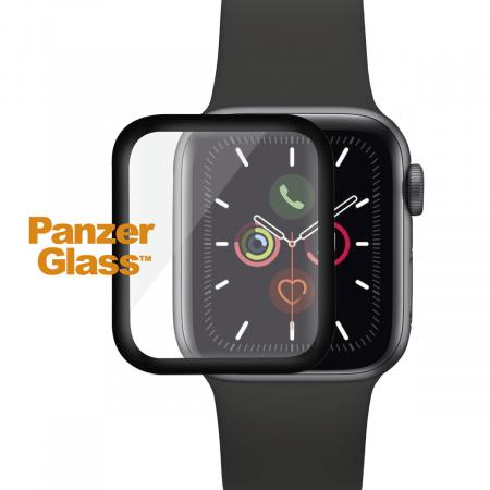 PanzerGlass Premium pro Apple Watch 4/5 (44 mm) Black Full silicone