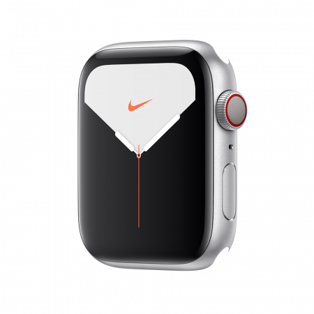 Apple Watch Nike Series 5 GPS + Cellular, 44mm Silver Aluminium Case Only (DEMO)