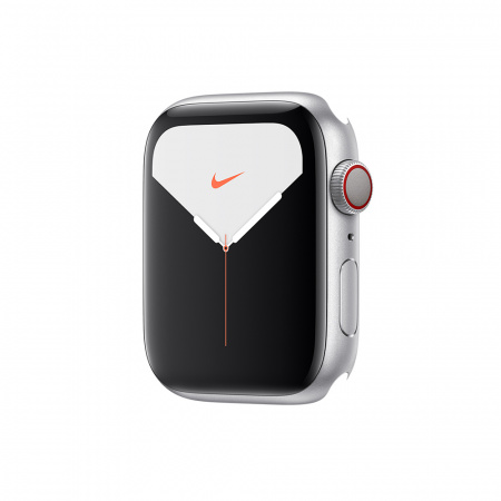 Apple Watch Nike Series 5 GPS + Cellular, 40mm Silver Aluminium Case Only (DEMO)