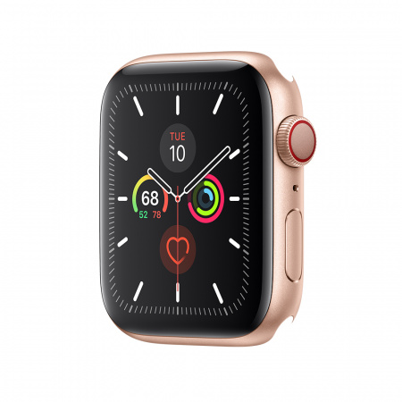 Apple Watch Series 5 GPS + Cellular, 44mm Gold Aluminium Case Only (DEMO)