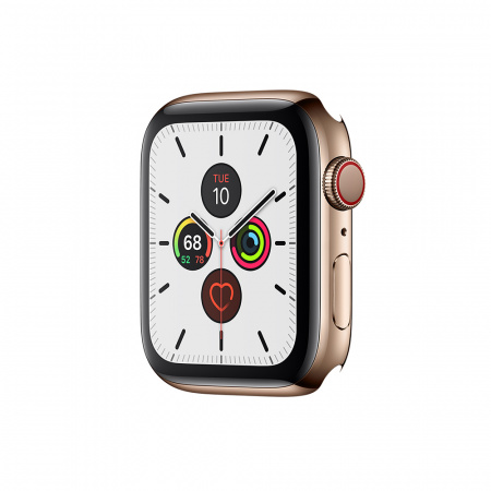 Apple Watch Series 5 GPS + Cellular, 40mm Gold Stainless Steel Case Only (DEMO)