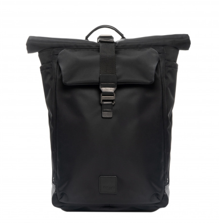 Knomo NOVELLO Backpack 15-inch Nylon w Semi Veg Trim - BLACK (Male)