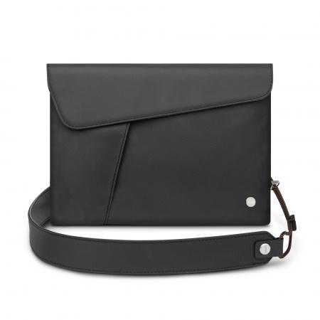Moshi Aro Ultra Light Bag Vegan Leather - Midnight Black