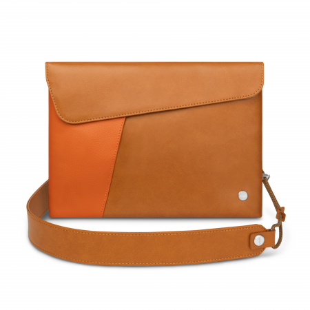 Moshi Aro Ultra Light Bag Vegan Leather - Caramel Brown