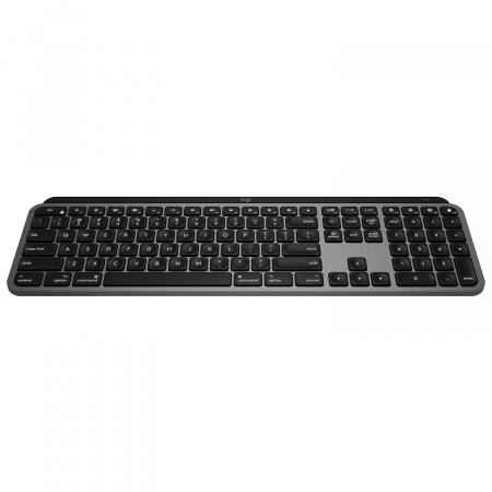 Logitech MX Keys Advanced Wireless Illuminated Keyboard for MAC - Space Grey (UK)