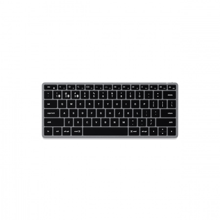 Satechi Slim X1 Bluetooth BACKLIT Wireless Keyboard - US - Space Grey