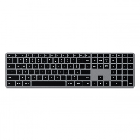 Satechi Slim X3 Bluetooth BACKLIT Wireless Keyboard - US - Space Grey