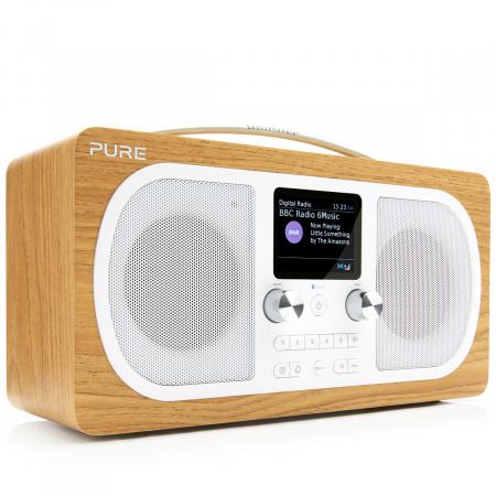 Pure Evoke H6 DAB+ Radio with Bluetooth - Oak
