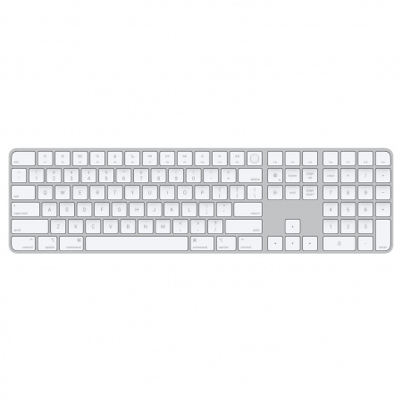 Apple Magic Keyboard (2021) with Touch ID and Numeric Keypad - French