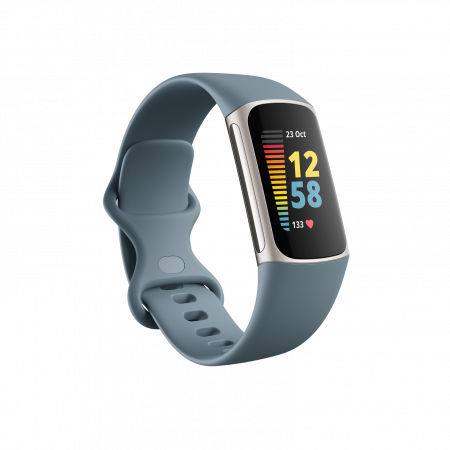 Fitbit Charge 5 Steel Blue/Platinum Stainless Steel