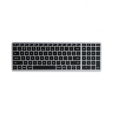 Satechi SLIM X2 Slim Bluetooth Wireless Keyboard + Num. Keypad - US - Space Grey