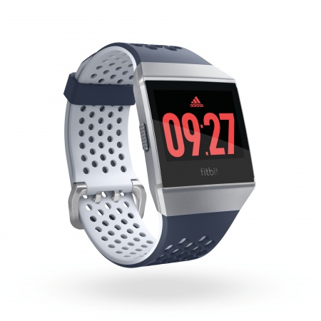 Fitbit Ionic Adidas Edition - Ink Blue & Ice Gray / Silver Gray