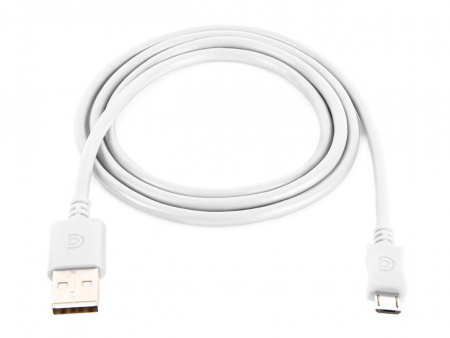Griffin 1m Charge/Sync Cable, æMicro-USB - White