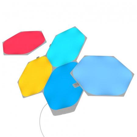 Nanoleaf Shapes Hexagons Starter Kit Mini - 5 Panels