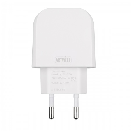 Artwizz PowerPlug USB-C 15W - White