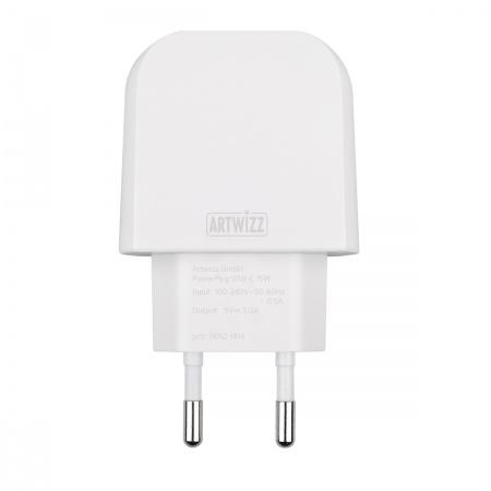 Artwizz PowerPlug USB-C 15W - White