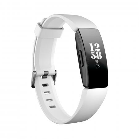 Fitbit Inspire HR - White/Black