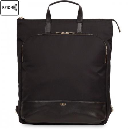 Knomo HAREWOOD Tote Backpack 15inch - Black