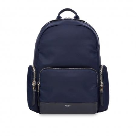 Knomo BARLOW Zip Backpack 14inch - Dark Navy