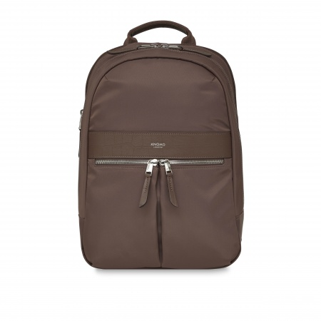 Knomo BEAUFORT MINI Double Zip Backpack 12inch - Fig