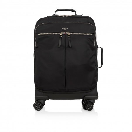 Knomo PARK LANE Wheeled Int. Carry-On 15inch - Black