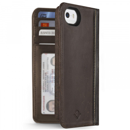 TwelveSouth BookBook for iPhone 5/5s und iPhone SE - vintage brown