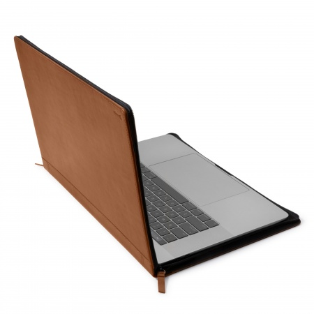 TwelveSouth Journal for MacBook Pro 15 USB-C - cognac