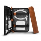TwelveSouth Journal CaddySack, cognac - travel case for adapater, power supply, cable and accessories