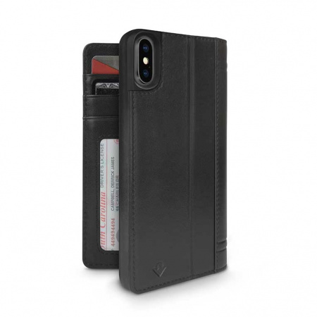 TwelveSouth Journal for iPhone XS Max - black