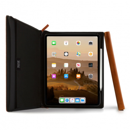 "TwelveSouth Journal for 12.9"" iPad Pro 3rd Gen cognac"