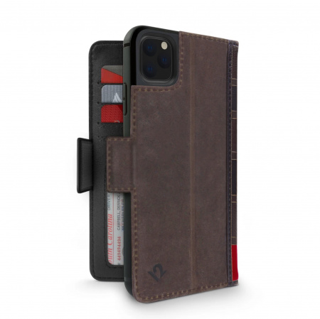 TwelveSouth BookBook Premium Leather Vol 2 for iPhone 11 Pro - Brown